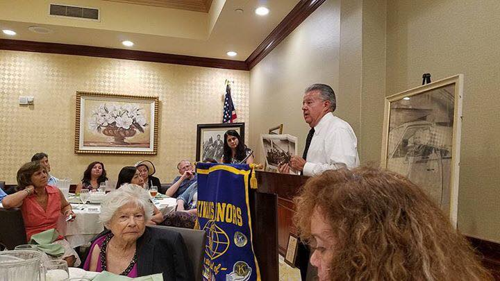 Kiwanis with Guest Speaker Vincent Lugo Jr.